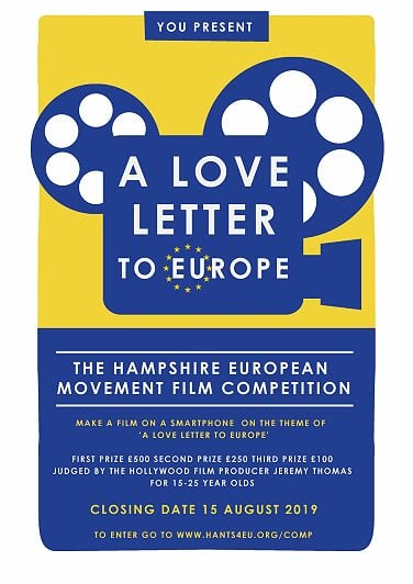 Love Letter to Europe - Competition